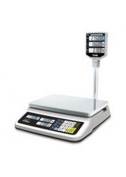 Весы электронные торговые Cas pr-6p (lcd, ii)