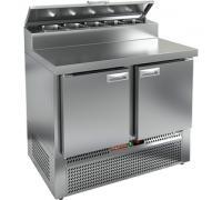 Стол охлаждаемый высокотемпературный Hicold тип HT модель PZE2-11/GN (1/6H) для пиццы