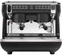 Кофемашина Appia Life Compact 2Gr V Black (авт., 2 выс.гр., экономайзер, черная) 167631