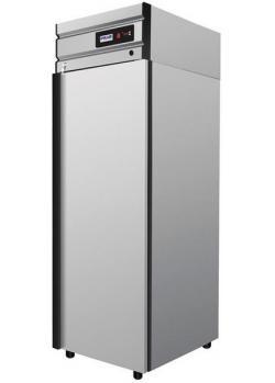 Шкаф холодильный с глухой дверью Polair cm105-g нержавеющий