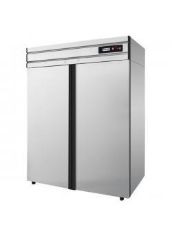 Шкаф холодильный с глухой дверью Polair cm114-g нержавеющий