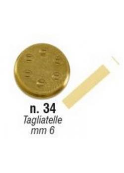 Форма Sirman для concerto 5 №34 тальятелле 6 мм