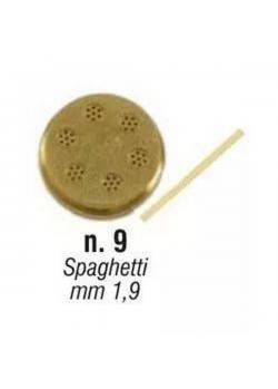 Форма Sirman для concerto 5 №9 спагетти 1,9 мм