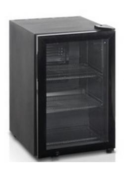 Шкаф холодильный со стеклом Tefcold bc60