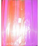 Трубочки кокт. 0,5*21 см.250 шт/уп. флуоресцент. прямые /1/48/